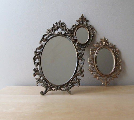 instant collection, gold gilded mirrors, paris apartment home decor
