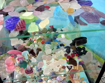 Glass Drilling Services 100 Holes - Let Me Drill Your Beach Sea Glass For You