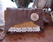 """Urban Country """"gathered and found""""  pouch - by simplyworn"""
