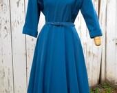 Vintage 1950's Wool Dress