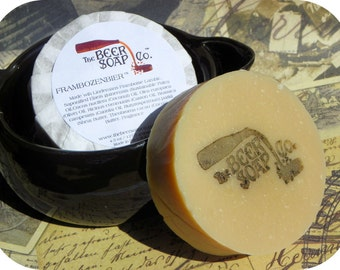 Frambozenbier Beer Soap Made with Lindermanns Framboise Belgian Lambic Ale