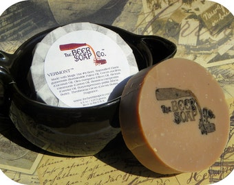 Vermont Beer Soap Made with Magic Hat No.9
