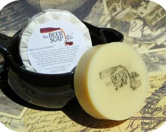 Belgian Hops Beer Soap Made with Chimay Grande Reserve Bleu Trappiste
