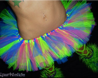 PLUR Rave TuTu Skirt