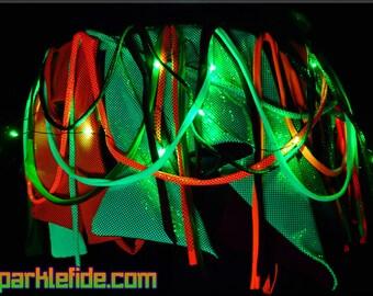 LED Lunar Rainbow Skirt Wrap
