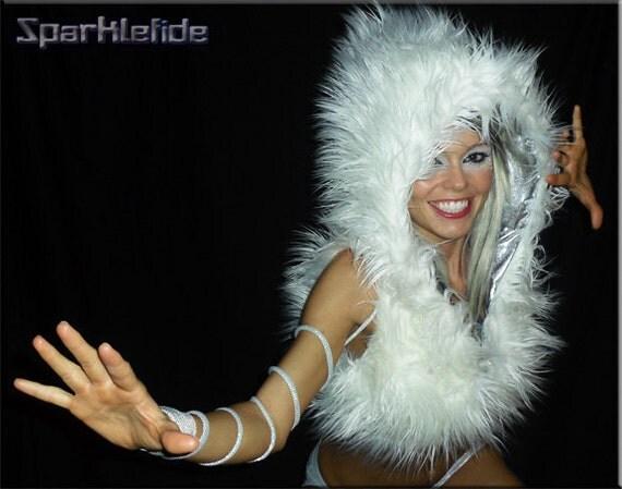 Space Age Fur Hoodie
