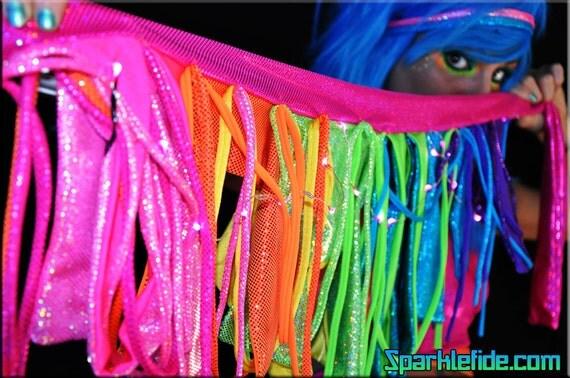 LED Solar Rainbow Skirt Wrap