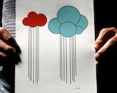 Rain Clouds 8 x 10 Paper Print