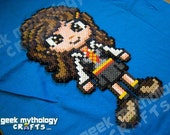 Hermione Granger Harry Potter Bead Sprite Pixel Art Decoration