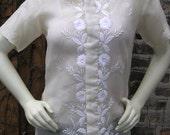 Silk tunic top for Deborah only
