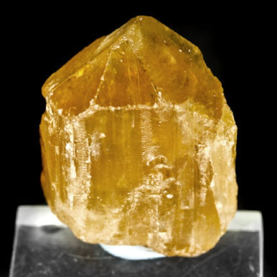 Imperial Topaz crystal naturally formed Large yellowRaw Imperial Topaz