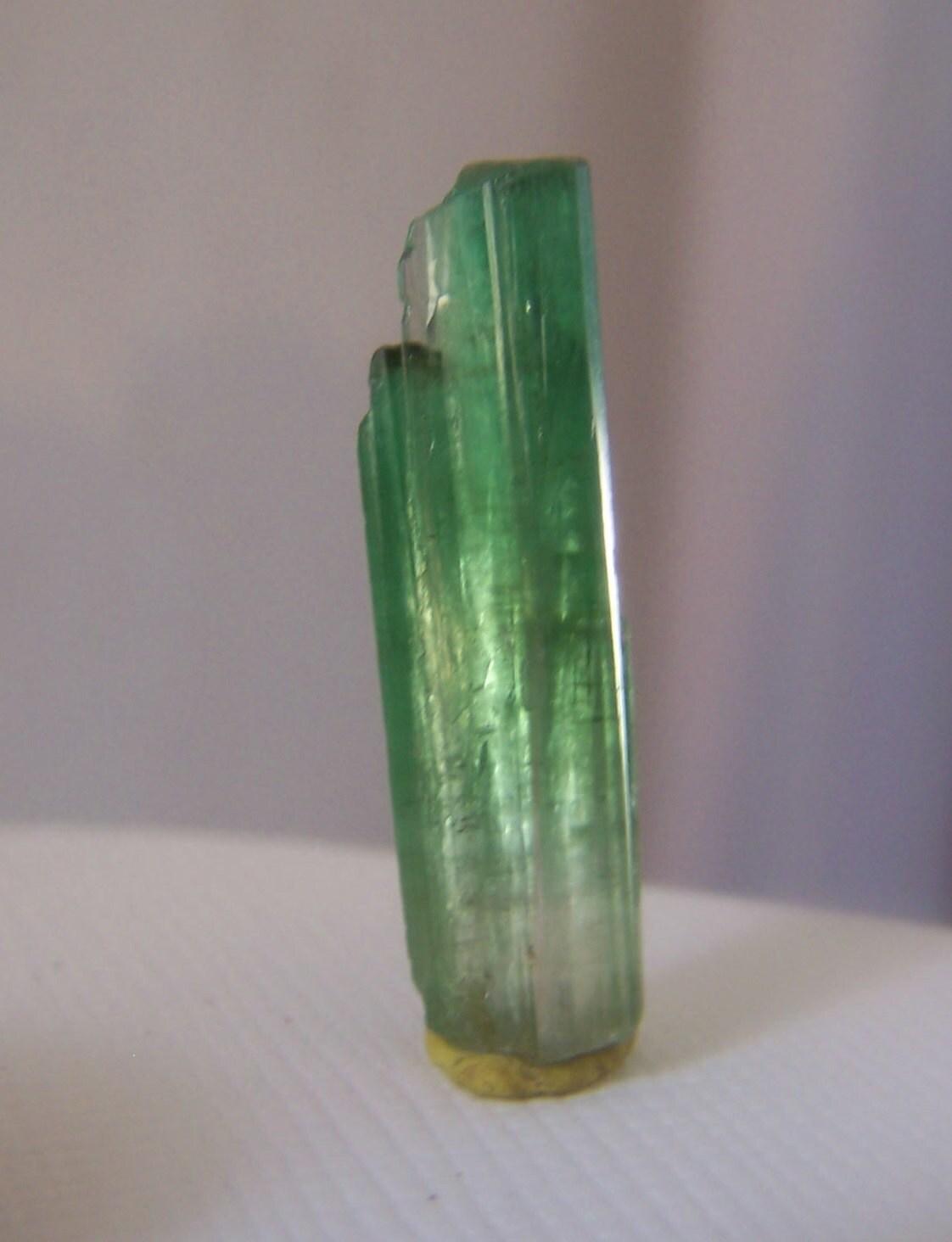 Bright Green Tourmaline Crystal Tourmaline Specimen