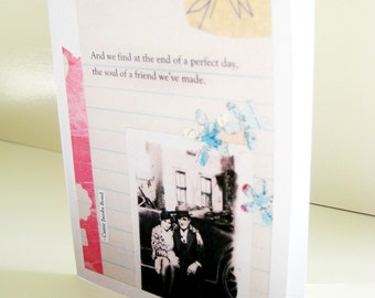 Soul of a Friend blank card