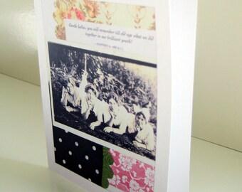 Gentle Ladies blank card