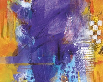 Abstract Watercolor Painting, LIMITED EDITION PRINT by Sylvia Boulware (Original Available)