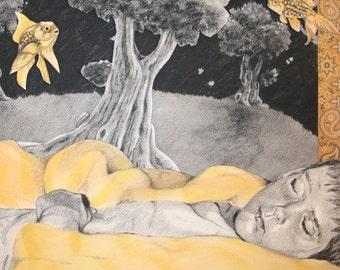 Peaceful Slumber 8 X 10 Digital Print