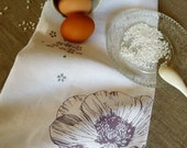 Black Friday Cyber Monday Sale 20% OFF Poppy Linen Tea Towel