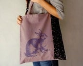Black Friday Cyber Monday Sale 20% OFF Rabbit tote bag/Shopper