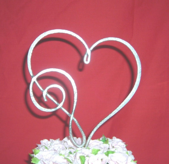 Musical Heart Treble Clef Cake Topper Decoration for All Music Lovers
