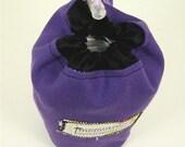 Plastic Bag Holder, Dog Mess Bags, Poop Bags, Market Bags, Pets, Purple, Momo Trees