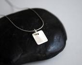 Teeny-Tiny 1 Necklace