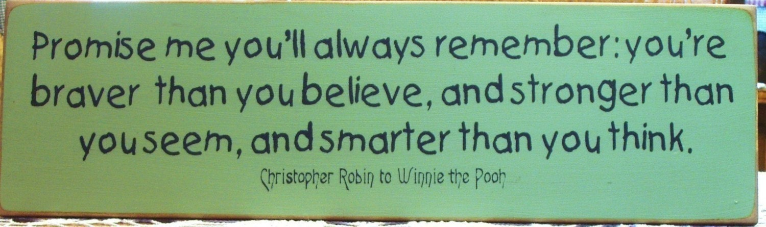 Winnie Pooh Christopher Robin Quotes