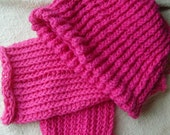 reserved for butrflyleslie COTTON LEGWARMERS AND BEANIE