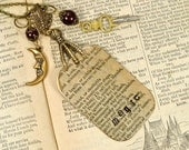 Magic Amulet Literary Jewelry Raven Claw Necklace