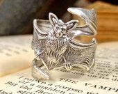 Bat Ring Vampire Ring Goth Jewelry Gothic Jewelry