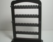 jewelry holder , earring rack Organizer for Necklaces  Earrings   jewellery tree stand with  PEGS