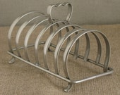 Toast Rack - English Silver Plated