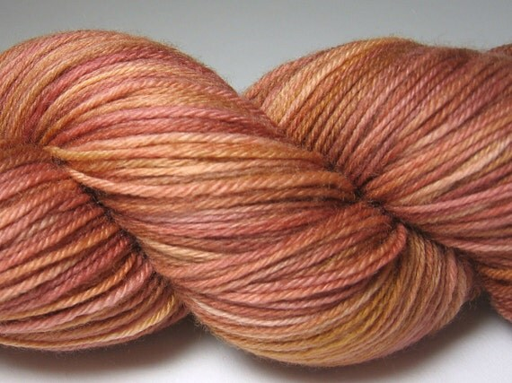 CLEAROUT - Cashmere Sock Party - Hand Dyed Sock Yarn - Superwash Wool, Cashmere and Nylon