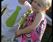Matching Brother Sister Summer outfit Set in Bright Summer