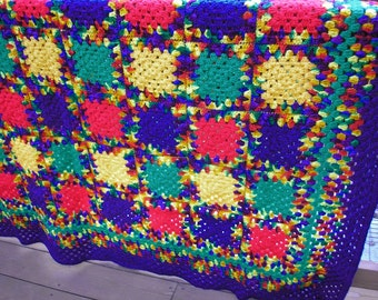 Cinco de Mayo Fiesta Heirloom Quality Afghan FREE SHIPPING