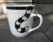 Discounted - Cat and a Hat,  Alice in Wonderland teacup