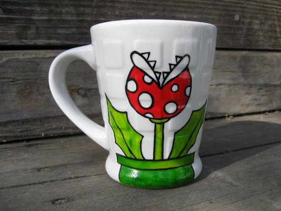 Piranha Plant Mug - Super Mario Inspired