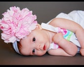 Large Flower of Choice on a Interchangable Headband of Choice Free Shipping On All Additional Items