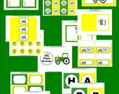 Tractor Printable Party - Big Green Tractor Printable Party Collection by The Birthday House - Everything You Need for a Great Party