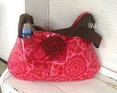 Laminated Cotton Diaper Bag--ON SALE