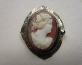 Antique Victorian Cameo  FREE SHIPPING