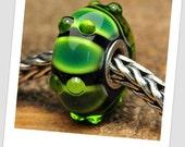 Made to Order Anniversary Caterpillar - Handmade Lampwork Bead - Fits Pandora, Biagi, Trollbeads, Chamilia