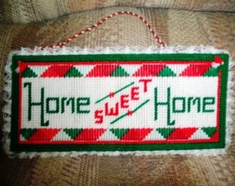 Home Sweet Home - Christmas colors