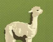 Alpaca Original Papercut