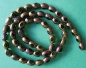 copper coated glass beads, ID1397