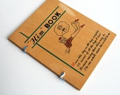 1960's HIM Book for Keeping Track of Boyfriends Information and Photos