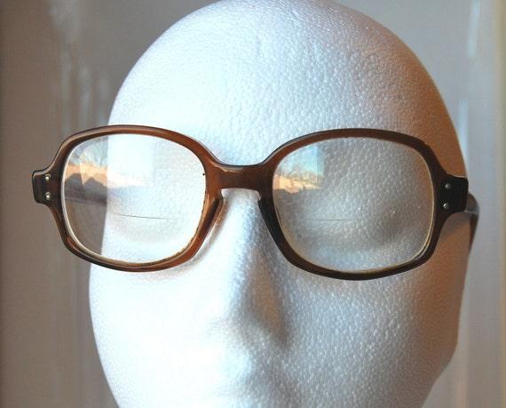 Vintage Romco Military Issue Men S Eyeglasses Rounded