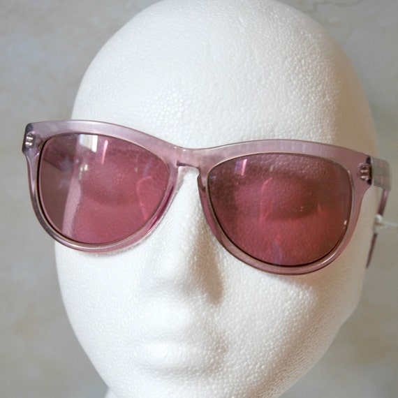 Vintage Cateye Sunglasses in Purple - by Menrad, for small head