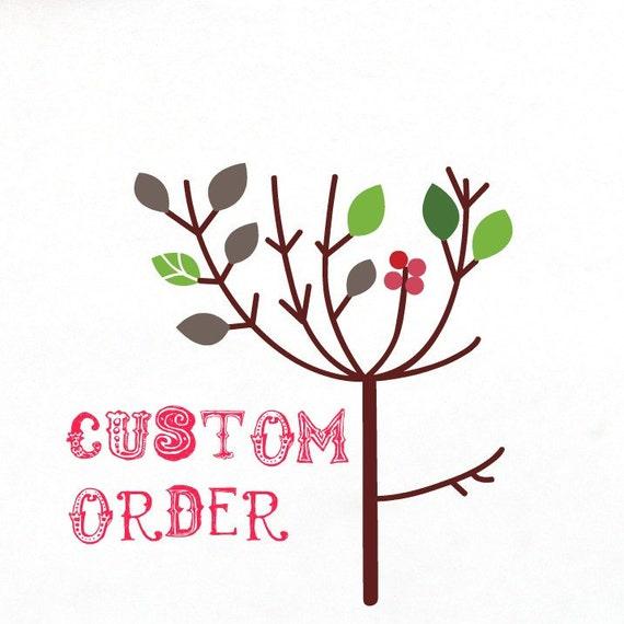 Custom order for Sheila