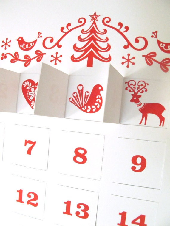 Semi-DIY Advent Calendar Nina Max Daly