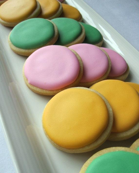 JUMBO DOTS Decorated Sugar Cookies, 2 Dozen
